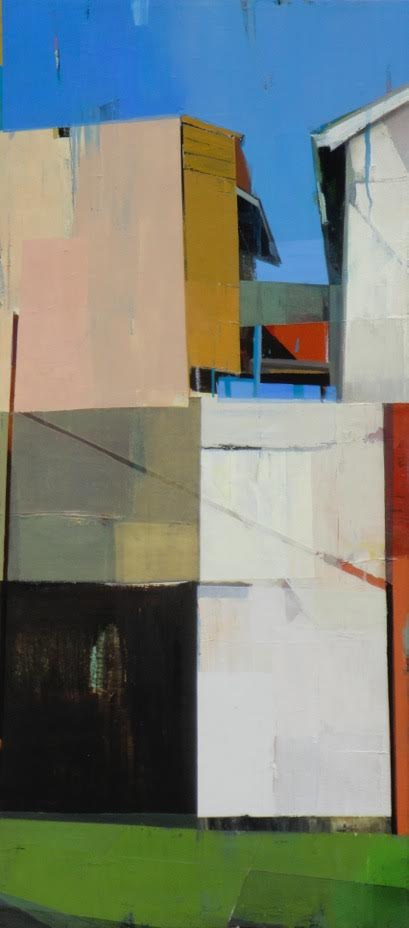 "Eternity # 42, 50"" x 22"", Oil on canvas"